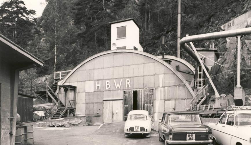 Haldenreaktoren fra 1950 tallet